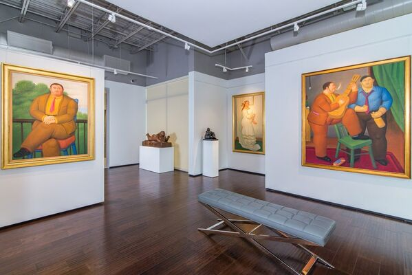 Abstract Realism in Luminous Volume, installation view