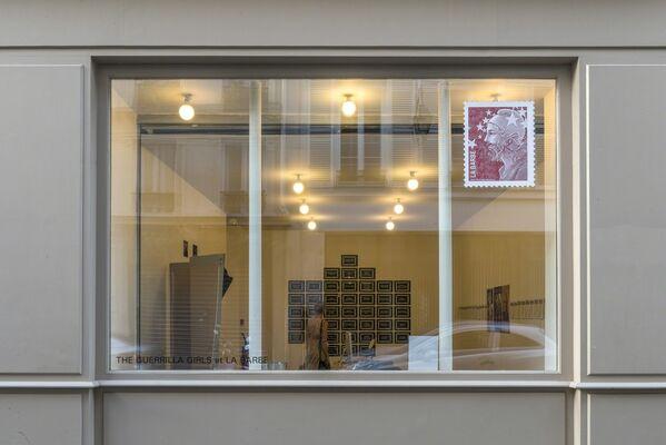 The Guerrilla Girls and La Barbe, installation view