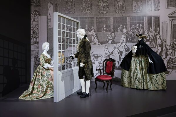 Casanova: The Seduction of Europe, installation view