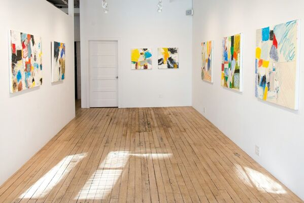 About New York, installation view