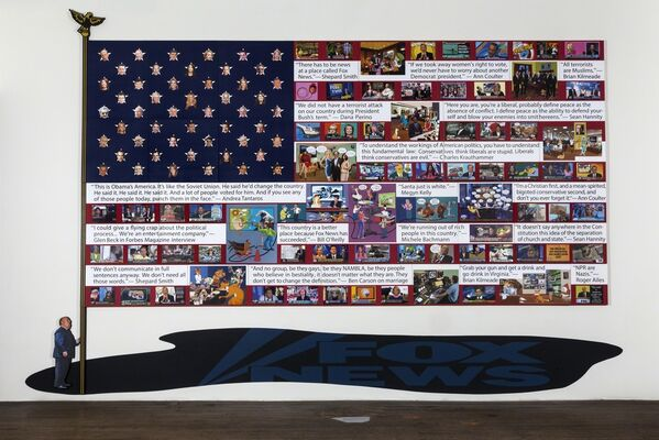 Art on the Front Lines, installation view