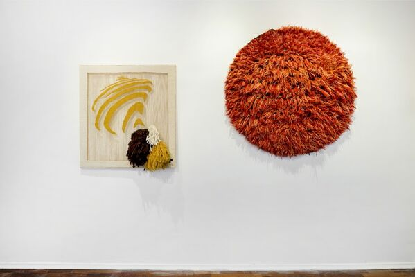 Red Sun, installation view