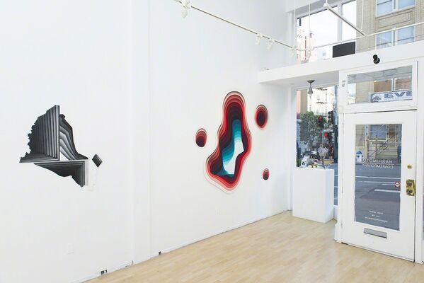 "1010: ""Eversion"", installation view"