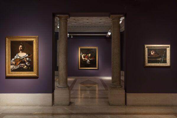 In Pursuit of Caravaggio, installation view
