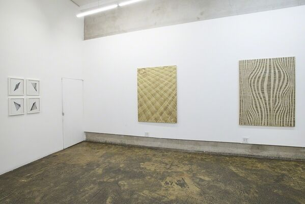We may be through with the past...(Part 1), installation view