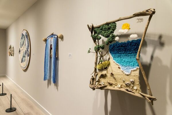 Encounters: Works from Akdeniz University Faculty of Fine Arts, installation view