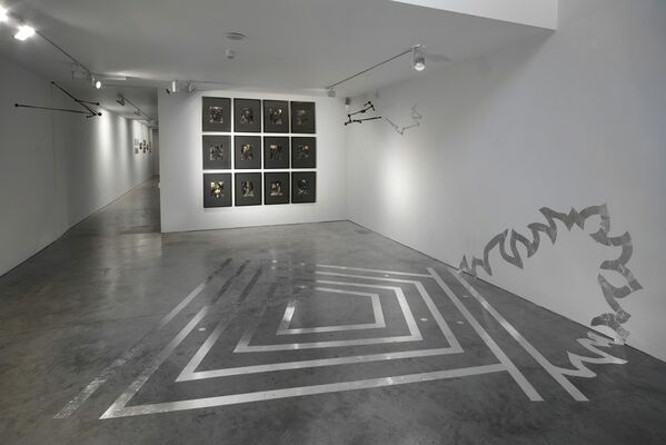 As The Cosmos Unfolds, installation view