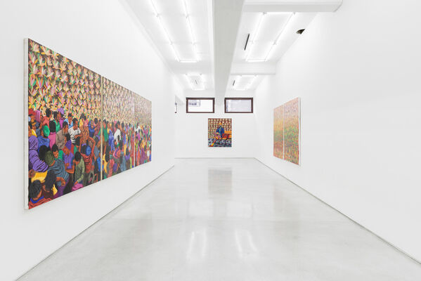Africa Without Borders, installation view
