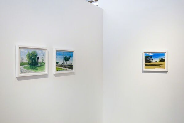 Cole Case 'Right Here Right Now', installation view