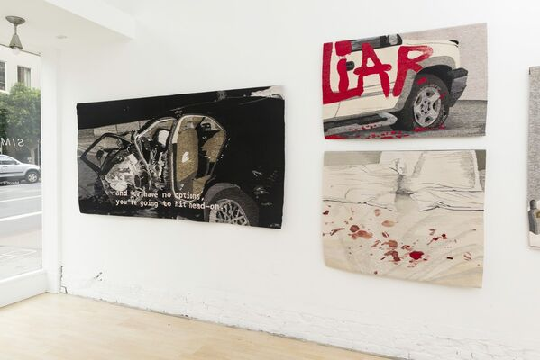 """Erin M. Riley: """"Simple"""", installation view"""