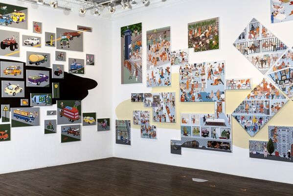 Nancy Chunn: Chicken Little and the Culture of Fear, installation view