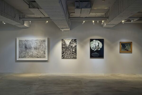 The Road Not Taken Ch.1, installation view