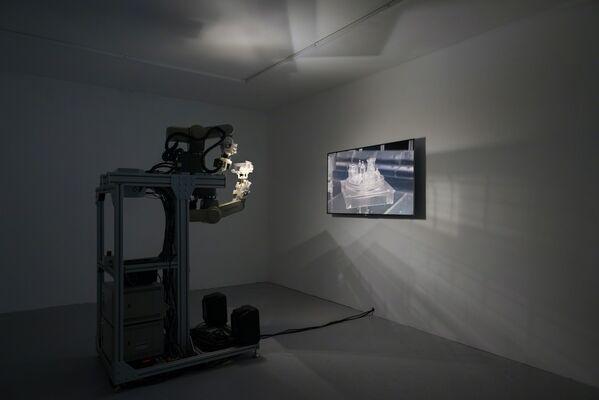 Skull Practice, installation view