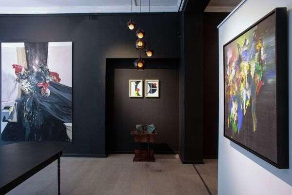 Abstracted, installation view