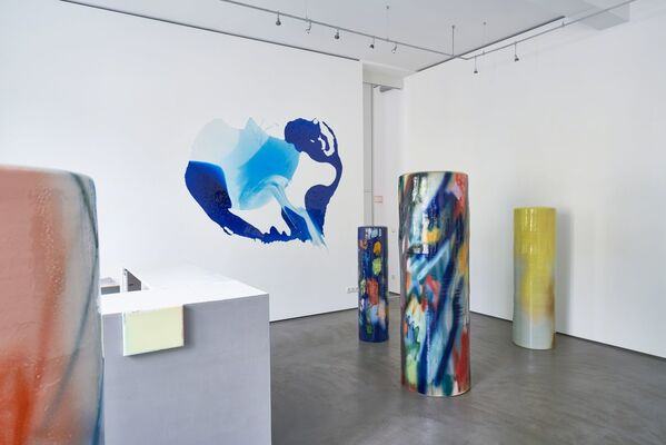 feel color - Stefanie Brehm and Hildegard Elma, installation view