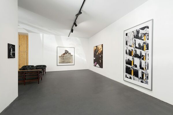 Raw Desires: Brutalism and Violent Structures, installation view