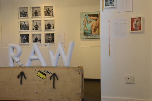 Richard Hart: Coming to America, installation view