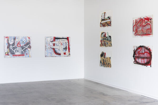 Michael Luchs, On the Fly, installation view