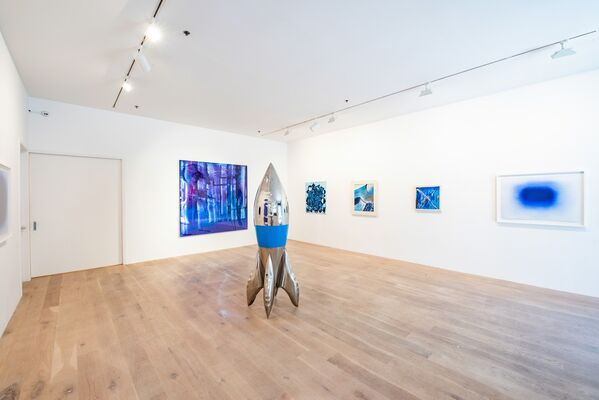 Almost Blue, installation view