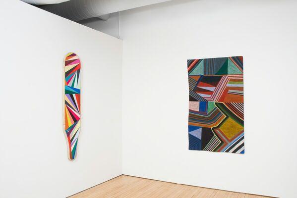 New Geometries, installation view
