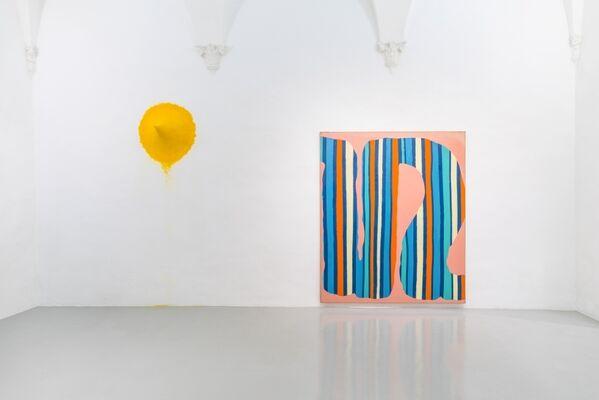 DANIEL BUREN & ANISH KAPOOR, installation view
