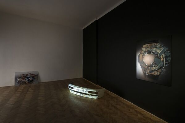 Florian Auer - Changing the Wheel, installation view