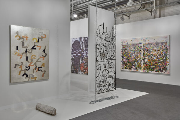 Alfonso Artiaco at Art Basel 2019, installation view