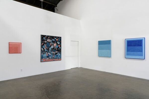 "Russell Tyler, ""Collision Course,"" Richard Heller Gallery, Santa Monica, CA, 2016, installation view"