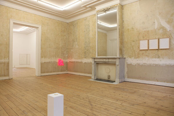 """SERENA FINESCHI  """"AFTER THE PARTY"""", installation view"""