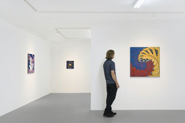 Rock-hard Aura and the Lost Explorer, installation view