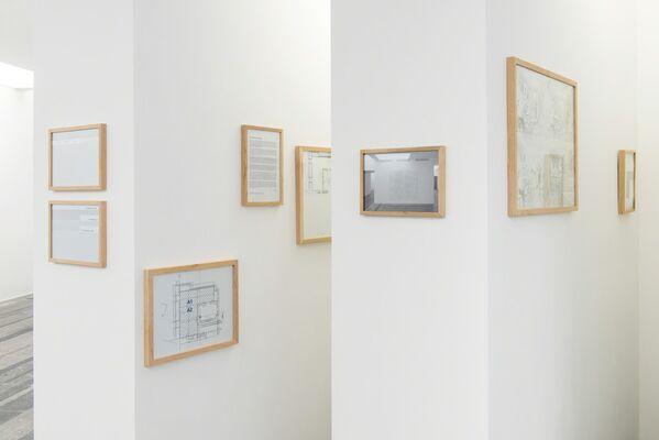 "Research Platform: ""Exhibition"", solo exhibition by Lada Nakonechna, installation view"
