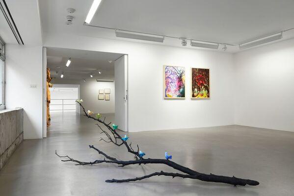 group show: Flora + Fauna, installation view
