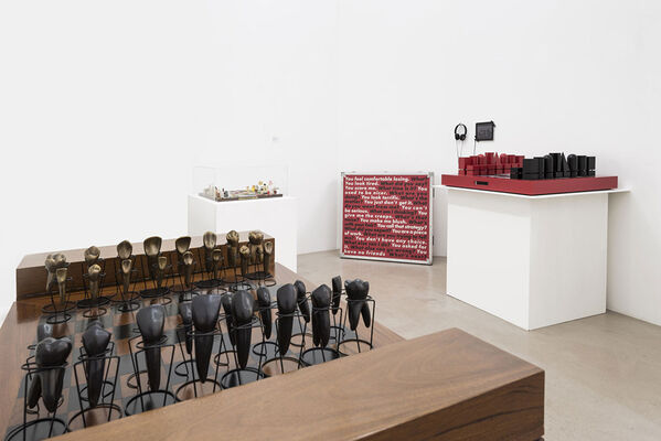 The Art of Chess, installation view