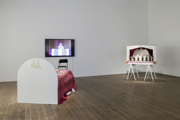 Eleanor Antin: I wish I had a paper doll I could call my own..., installation view