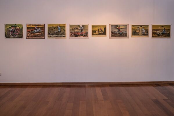 Hollywood Dreams, installation view