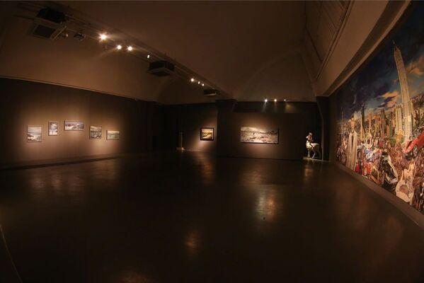 'A Floating World 漂浮的世界' Tamen Solo Exhibition, installation view