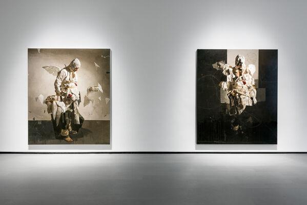 Sebastian Schrader : Blindgänger, installation view