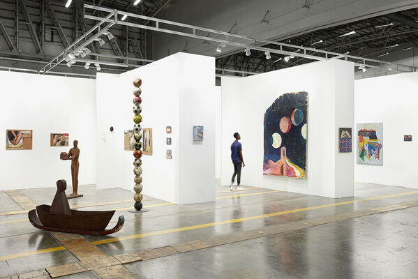 PLUS-ONE Gallery at Investec Cape Town Art Fair 2020, installation view