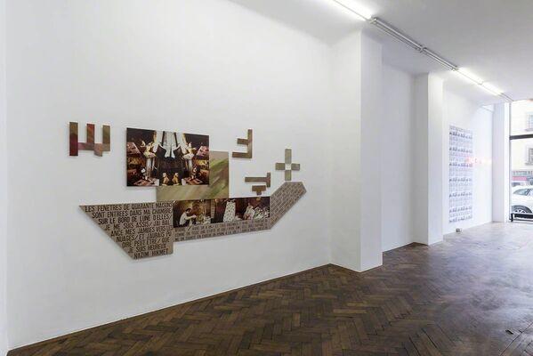 Nil Yalter, installation view