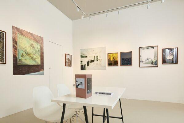 Kata Geibl: Sisyphus, installation view