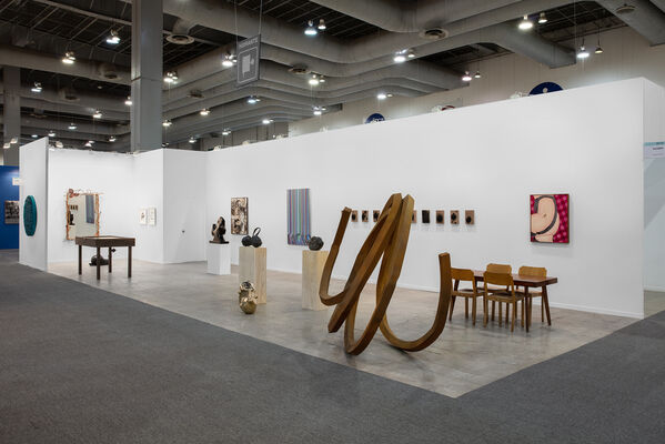 Kasmin at ZⓈONAMACO 2020, installation view
