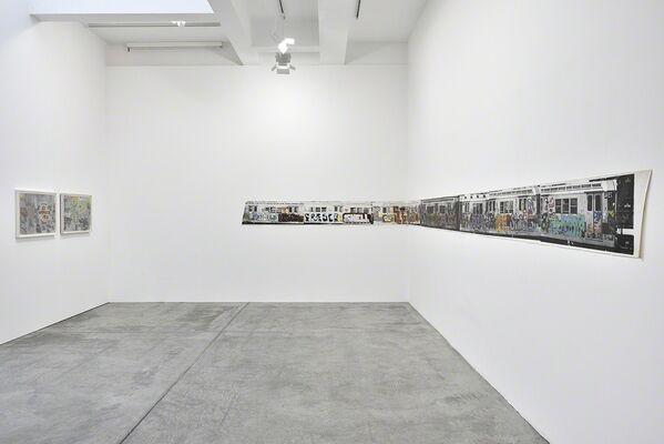 Gordon Matta-Clark, installation view