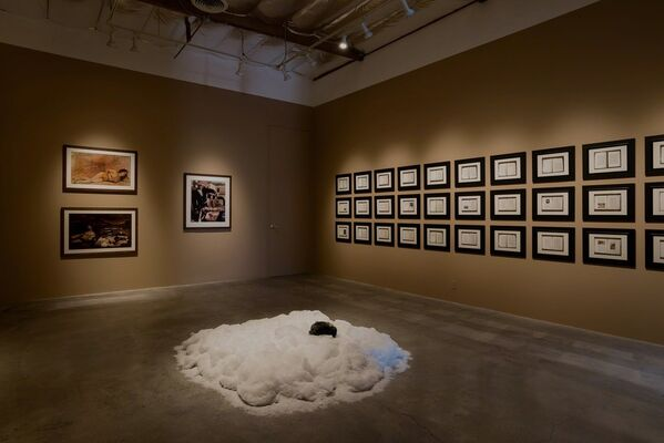 KEN GONZALES-DAY:  Bone-Grass Boy: The Secret Banks of the Conejos River, installation view