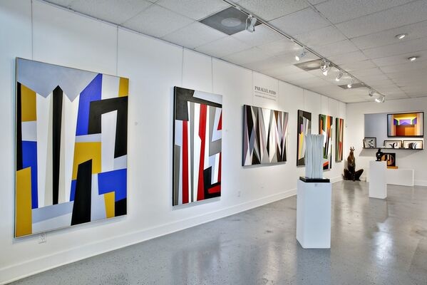 Parallel Paths, installation view