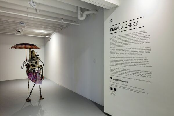 Renaud Jerez, installation view