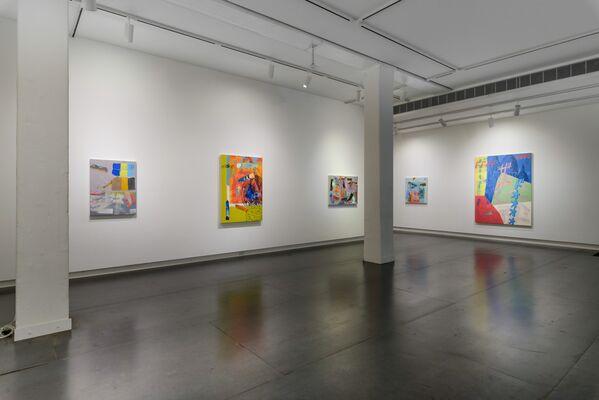 Hank Bierbaum Fantasizes*, installation view