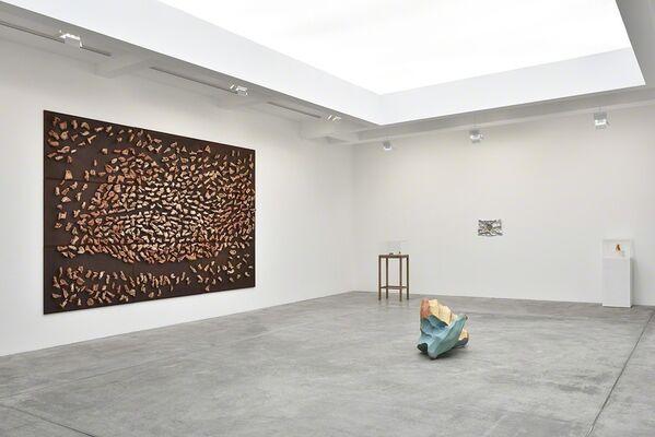 Giuseppe Penone: Ebbi, Avrò, Non Ho (J'eus, J'aurai, Je n'ai), installation view