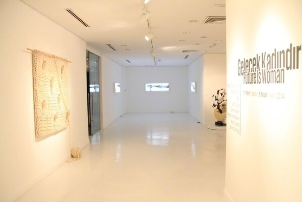 Future Is Woman, installation view