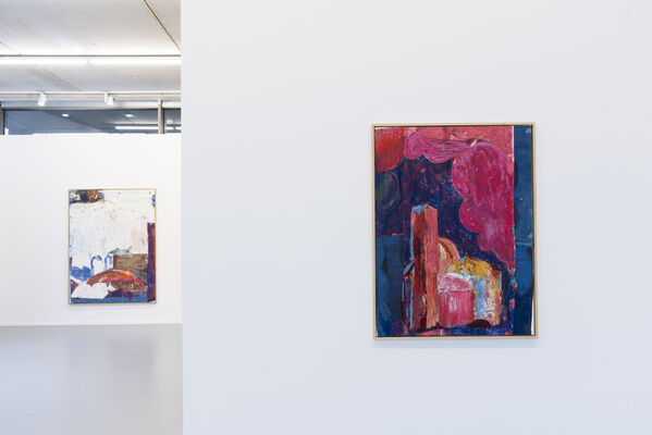 In the ballpark, installation view