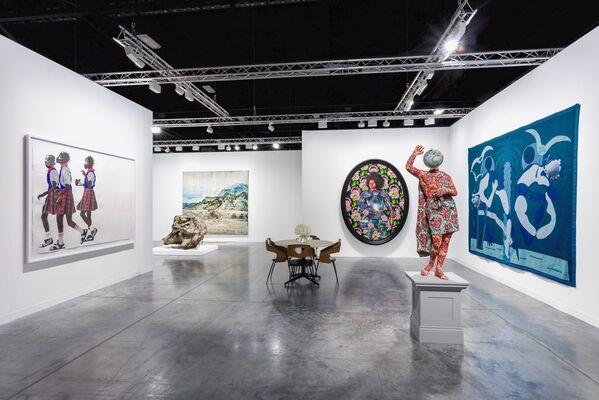 Stephen Friedman Gallery at Art Basel in Miami Beach 2019, installation view